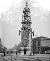 St George's Circus - clock tower