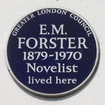 E. M. Forster