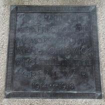 Chiswick war memorial - Turnham Green