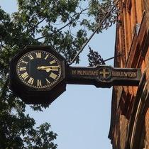 Harold Wilson clock