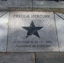 Freddie Mercury - High Street Feltham