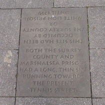 Marshalsea 5 - stone - at gates