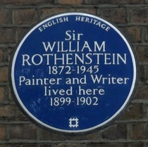 Sir William Rothenstein