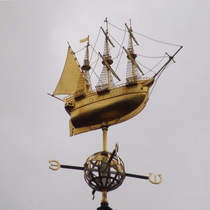 Liberty's - weather vane - Mayflower