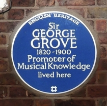 Sir George Grove - Westwood Hill