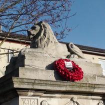 Crockett's Leathercloth Works war memorial