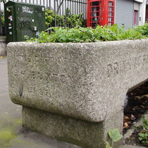 Buxton water trough - Spitalfields