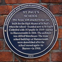 St. Paul's School - High Master's House