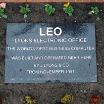 LEO - world's first business computer