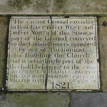 Christ Church Spitalfields - pavement - ownership