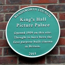 King's Hall Picture Palace - first cinema in Britain