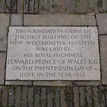 Westminster Hospital - burial ground