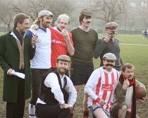 First match of association football