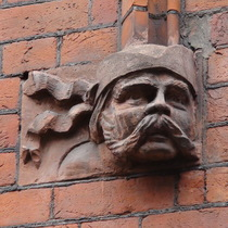 Drill Hall - head 1 - Irish soldier