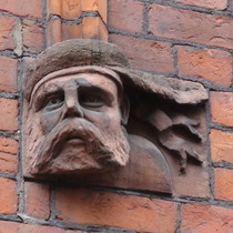 Drill Hall - head 2 - Scots soldier