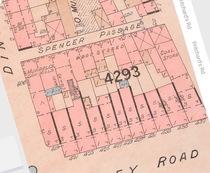 fire at 423 Hackney Road 1902