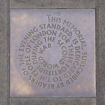 People of London - small plaque