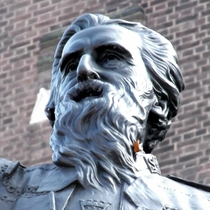 William Booth statue - Denmark Hill