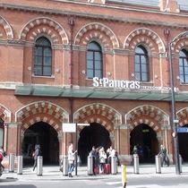St Pancras Station + HS1