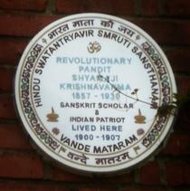 Pandit Shyamji Krishna Varma
