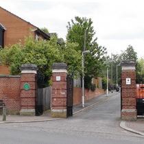St Benedict's Hospital - piers