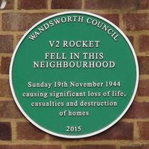 Hazelhurst Road WW2 bomb