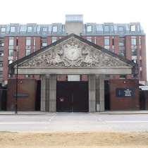 Hyde Park Barracks - Victorian pediment