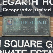 Percy Shelley - SE1 - Southwark