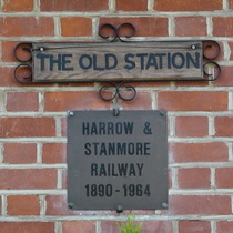 Stanmore Village railway station