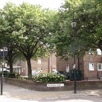 South Lambeth Estate Peri sculptures