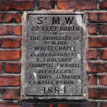 St Mary Whitechapel parish boundary