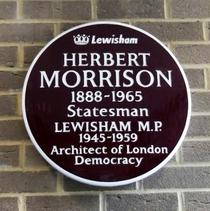 Herbert Morrison - Bromley