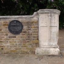 Boundary stone - Deptford