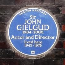 Sir John Gielgud - SW1