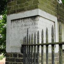 St Nicholas churchyard extension - south gate