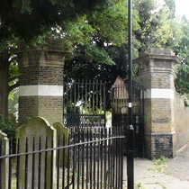 St Nicholas churchyard extension - north gate