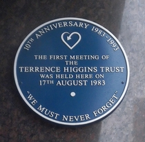 Terrence Higgins Trust founded