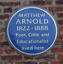 Matthew Arnold - Harrow