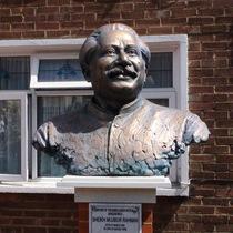 Sheikh Mujibur Rahman bust