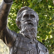 William Booth statue - Mile End