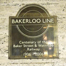 Baker Street and Waterloo Railway Centenary - Piccadilly Circus