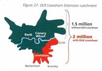 DLR extension to Lewisham