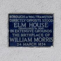 William Morris - birthplace