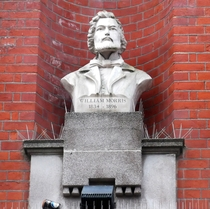 William Morris - Bexleyheath bust