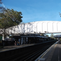 Kew Gardens Station Footbridge