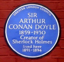 Sir Arthur Conan Doyle - SE25