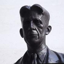 George Orwell statue