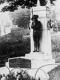 Walworth Boy Scouts Tragedy - lost statue