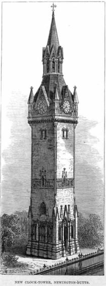 St Marys Newington clock tower