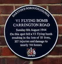 V1 Flying Bomb Dartford